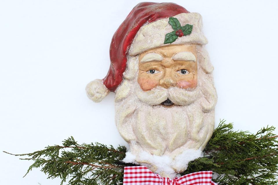 Santa, Santa Claus, Christmas, Holiday, Winter, Red