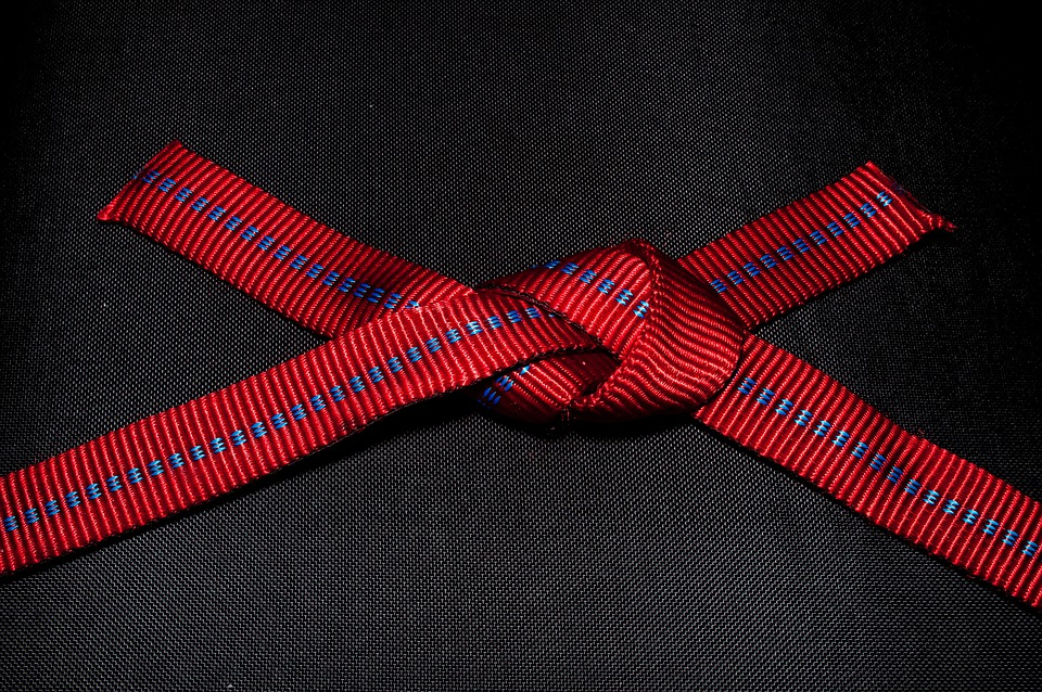 Knot, Technology, Close, Red