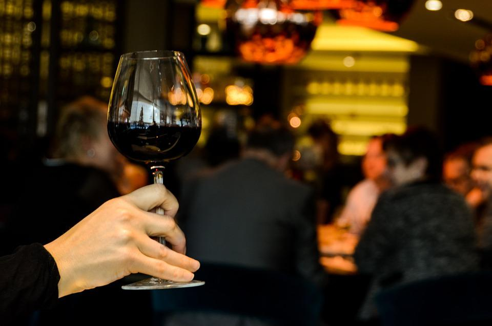 Wine, Cheers, Red, Lounge, Restaurant, Toast