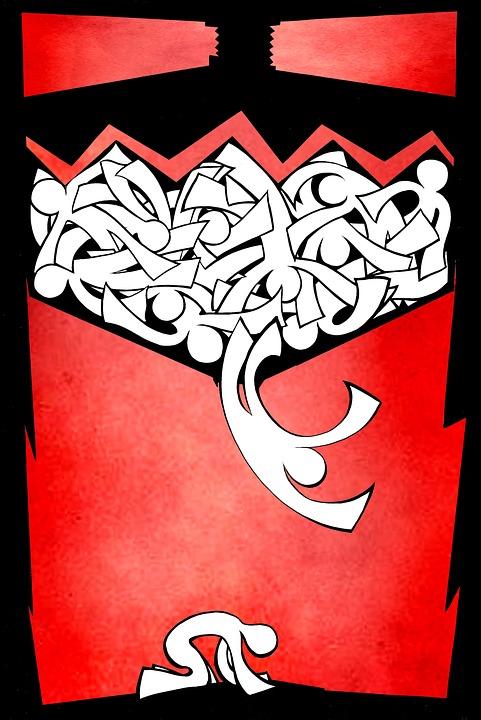 Poster, Machine, Red