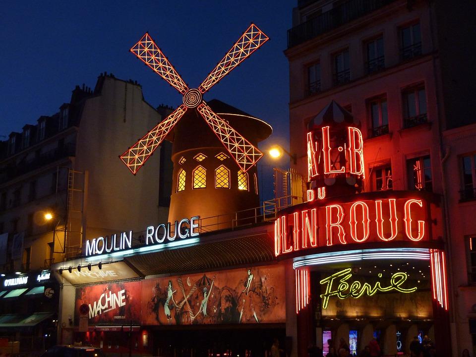 Moulin Rouge, Paris, Red Mill, Montmartre, Pleasure