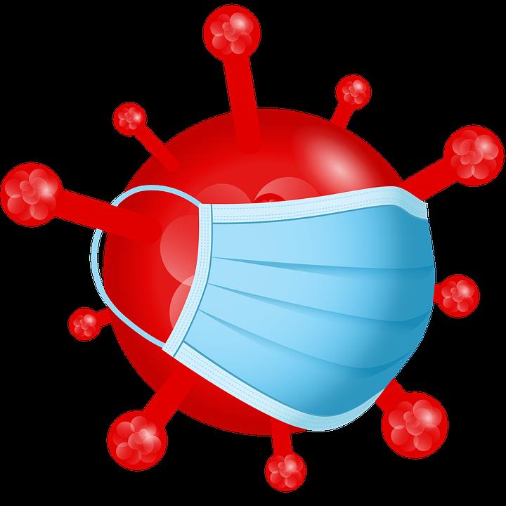 Corona, Coronavirus, Sars-cov-2, Red, Mouth Guard