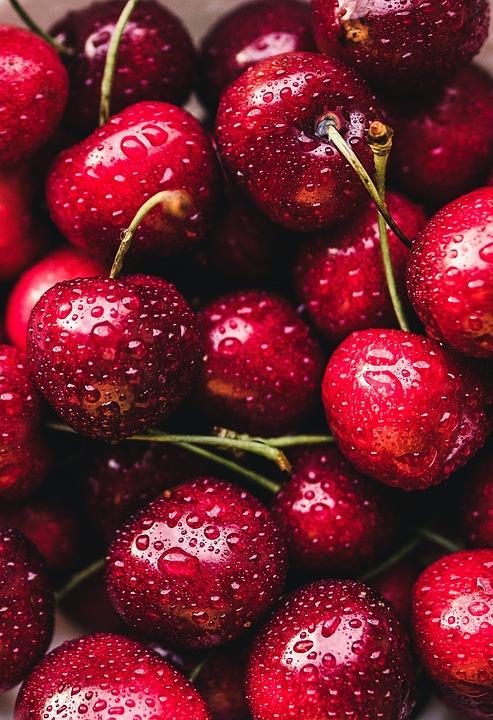 Cherries, Red, Fruit, Fruits, Cherry, Food, Nature