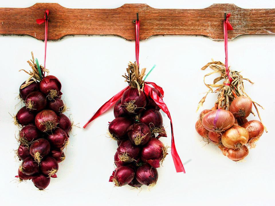 Onions, Red Onions, Yellow Onions