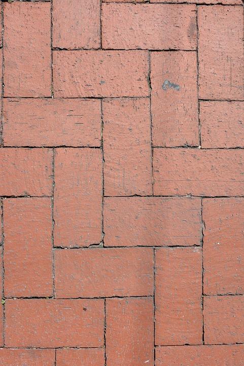 Brick, Red, Pattern, Block, Surface, Masonry