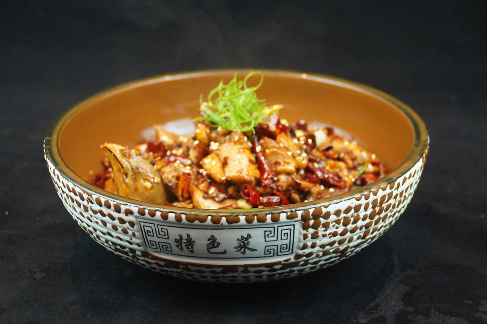 Chicken, Red Pepper, Chinese Dishes