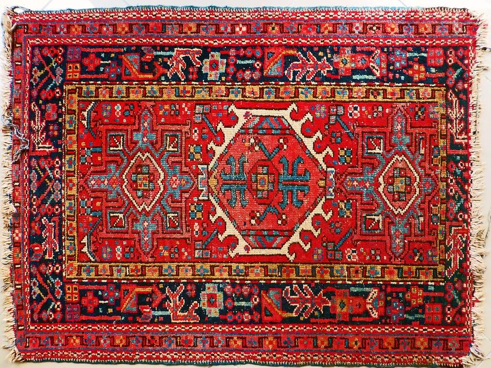 Carpet, Persians, Red, Retired, Persian Rug