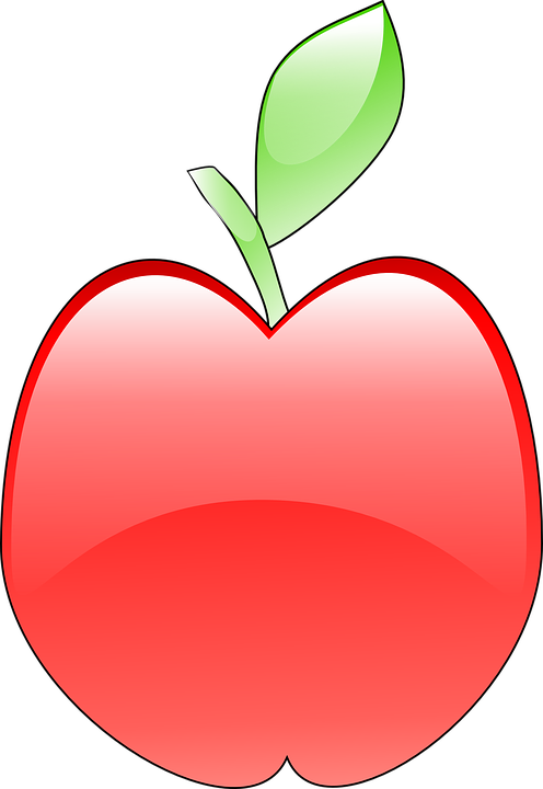 Red, Apple, Fruit, Plant, Food, Sweet, Vitamins