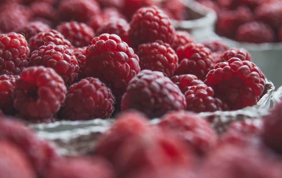Red, Fresh, Raspberries, Raspberry, Berries, Fruits