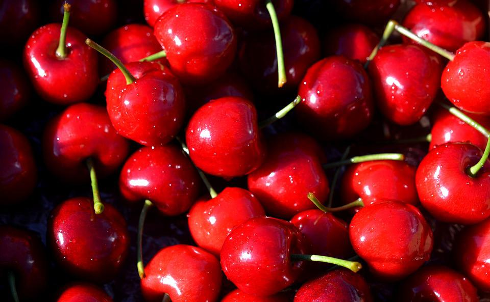 Cherry, Cherries, Red, Ripe, Healthy, Fruits, Berries