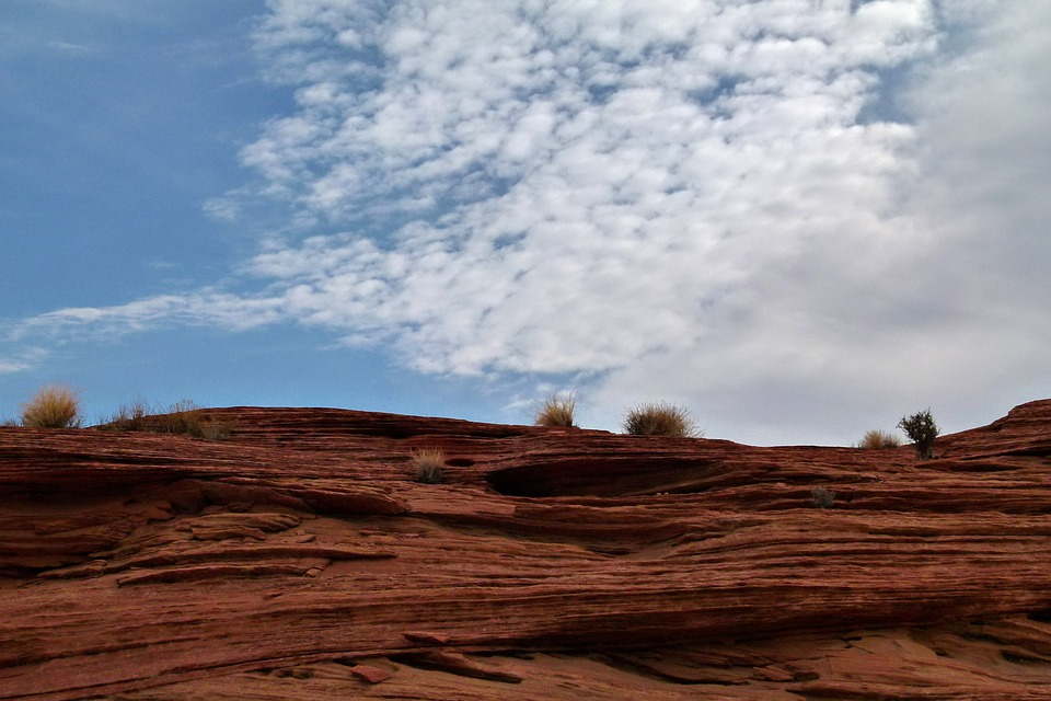 Glen Canyon, Red, Rocks, Arizona, Usa, Desert, Erosion