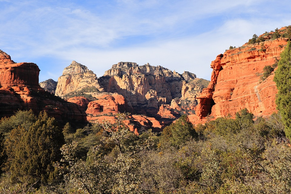 Boynton Canyon, Sedona, Red Rocks, Arizona, Landscape