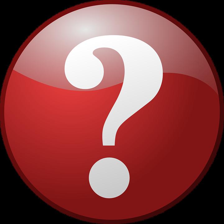 Question Mark, Button, Red, Round, Shiny, Symbol, Icon