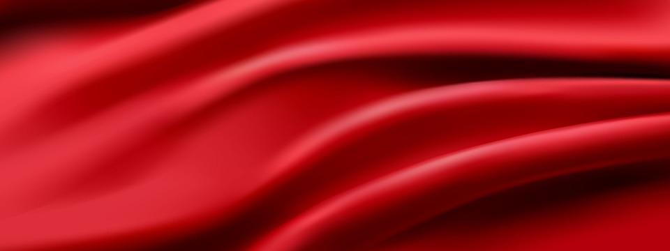 Red Silk Segment, Silk, Red Bottom