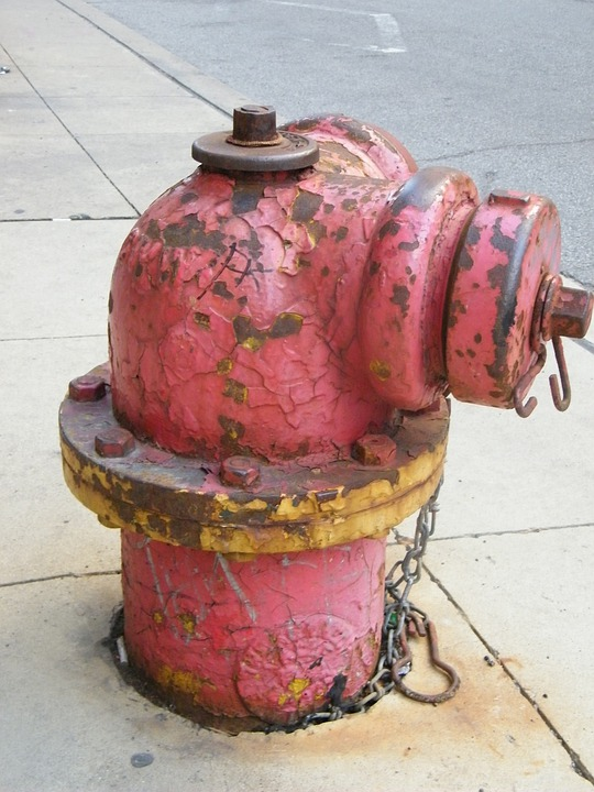 Hydrant, Usa, Red, Stainless