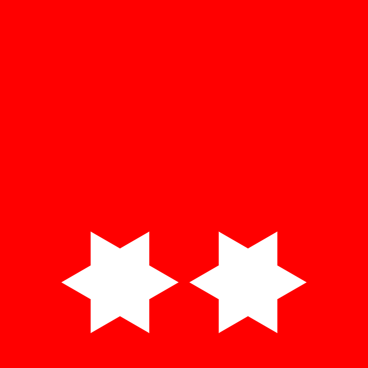 Star, Flag, Red, Red Stars