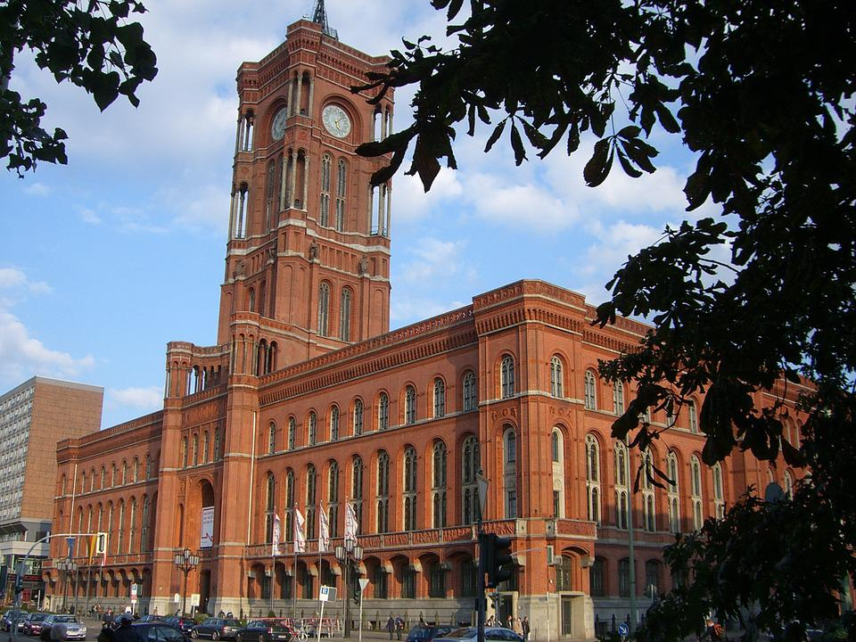 Red Town Hall, Berlin, Capital, Architecture, Town Hall