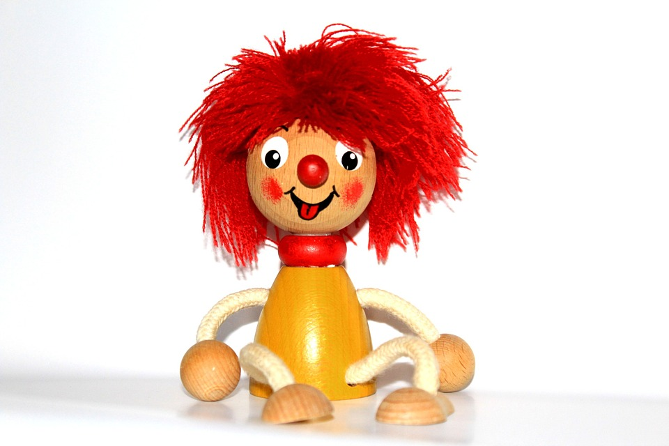 Pumuckl, Red, Fig, Toys, Children