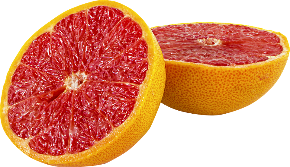 Fruit, Grapefruit, Png, Transparent, Red