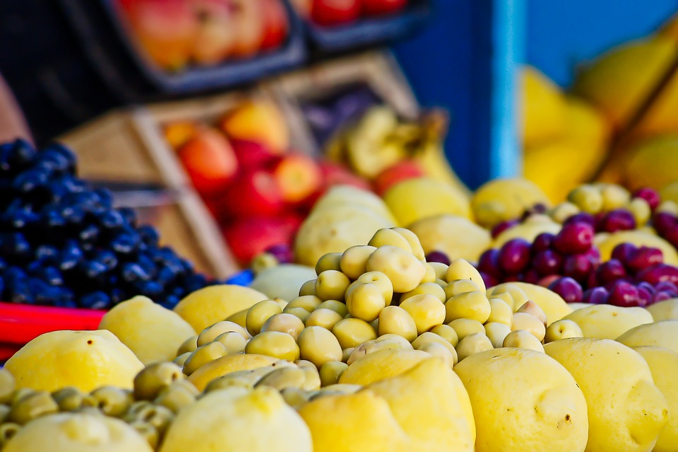 Market, Vegetables, Healthy, Fresh, Bio, Red, Green
