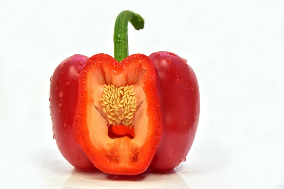 Paprika, Red, Vegetables, Food, Eat, Healthy, Vitamins