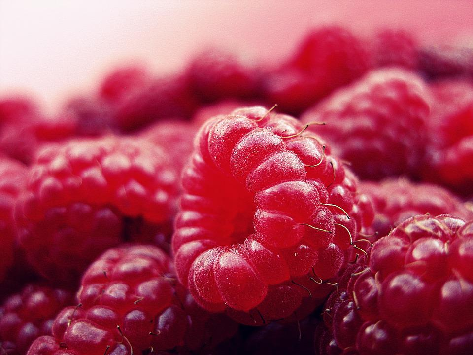 Raspberry, Fruits, Fresh, Red, Vitamins, Healthy