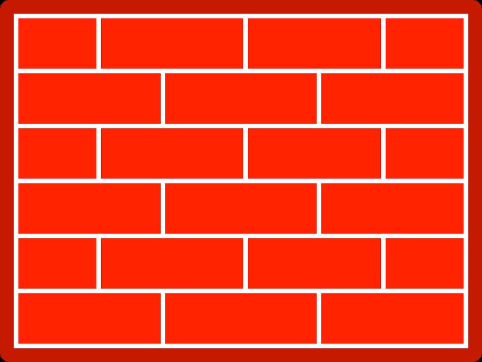 Wall, Bricks, Red, Red Wall