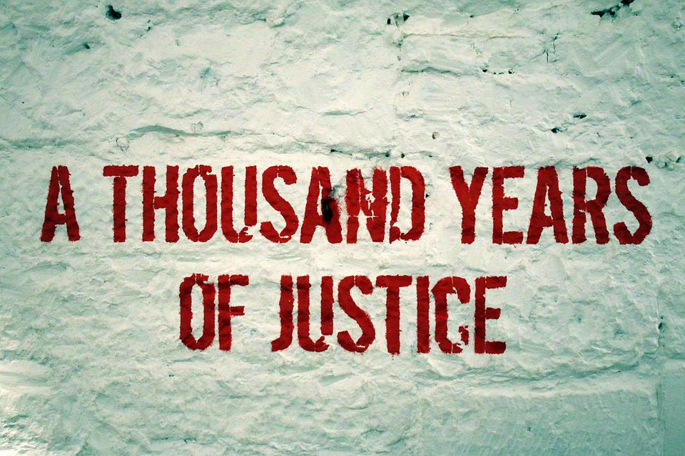 Saying, Font, Red, Wall, Prison, Statement, Justice