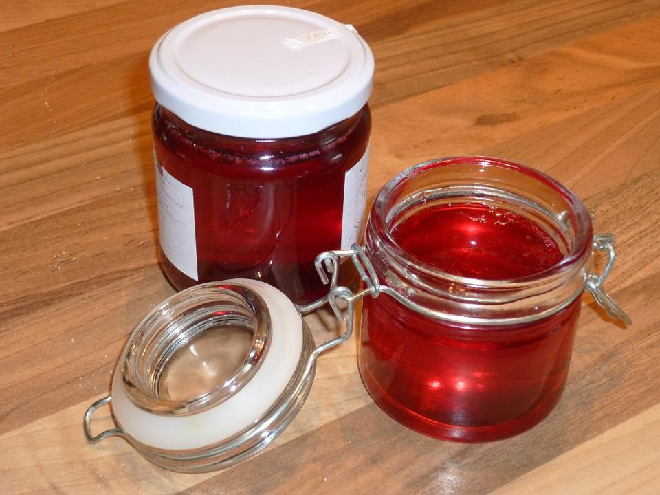 Redcurrant Jelly, Jam, Auvergne
