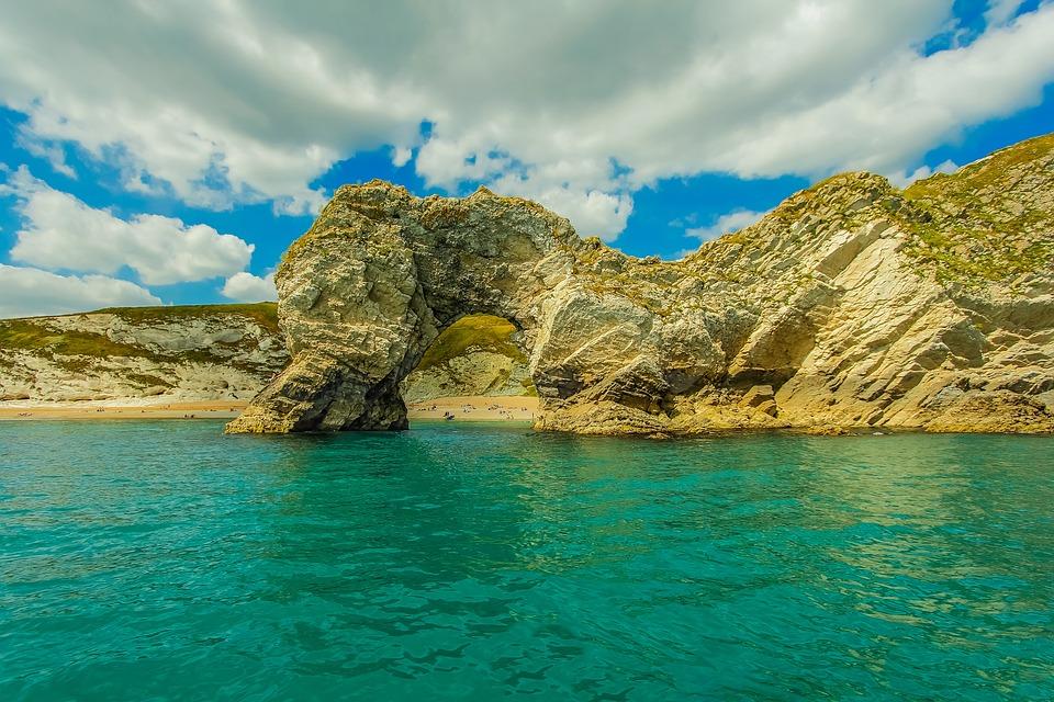 Durdle Door Ocean Dorset England Reef & Free photo Reef Ocean Dorset Durdle Door England - Max Pixel