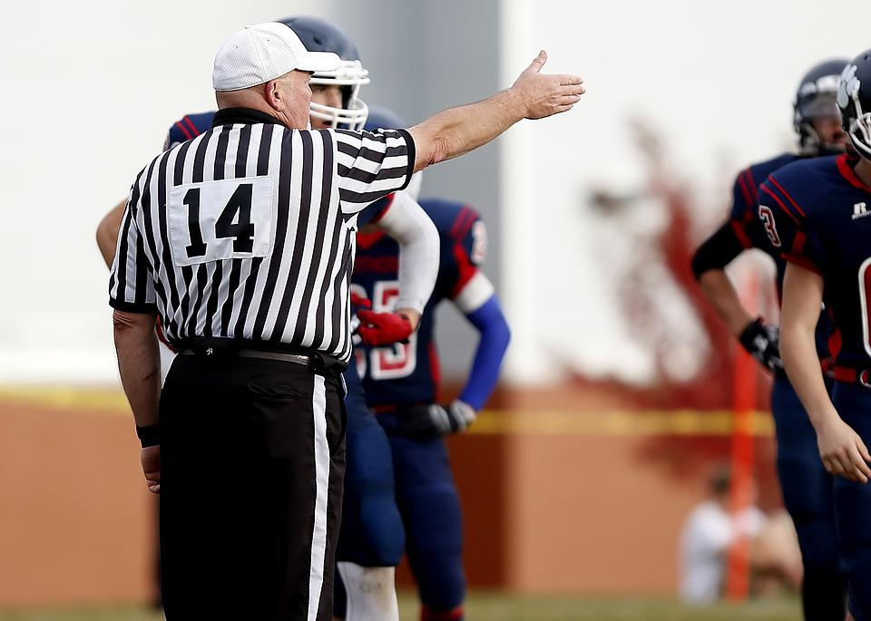 Referee, Football Referee, First Down