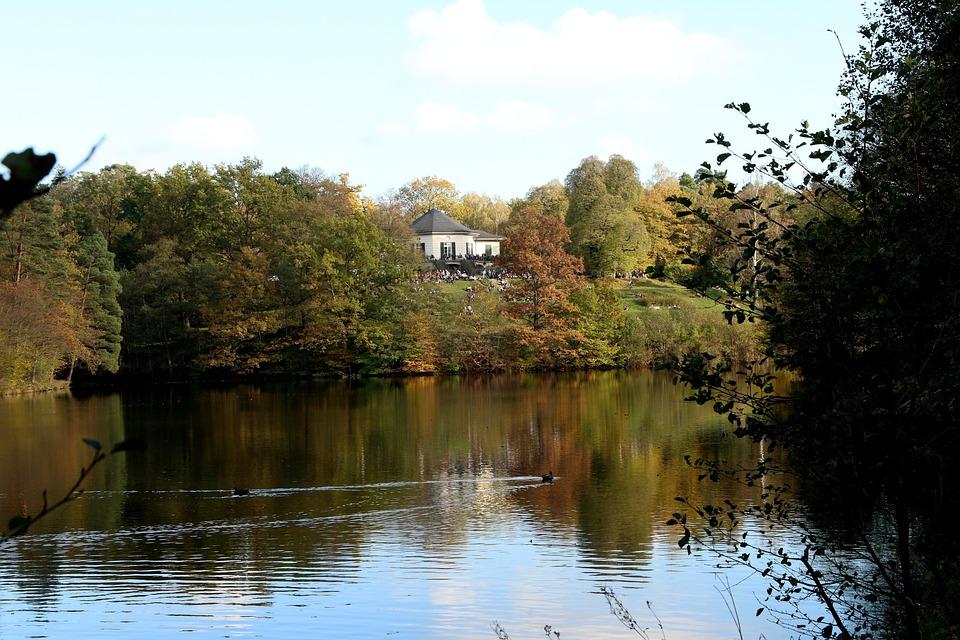 Lake, Autumn, Nature, Bear Lake, Stuttgart, Reflect