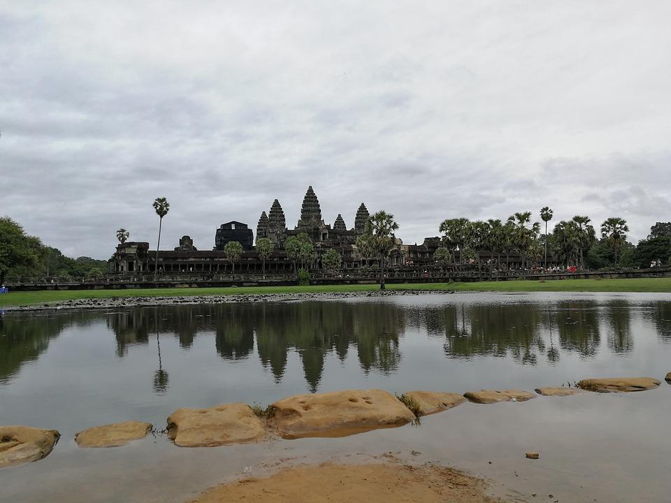 Cambodia, Small Angkor, Reflection