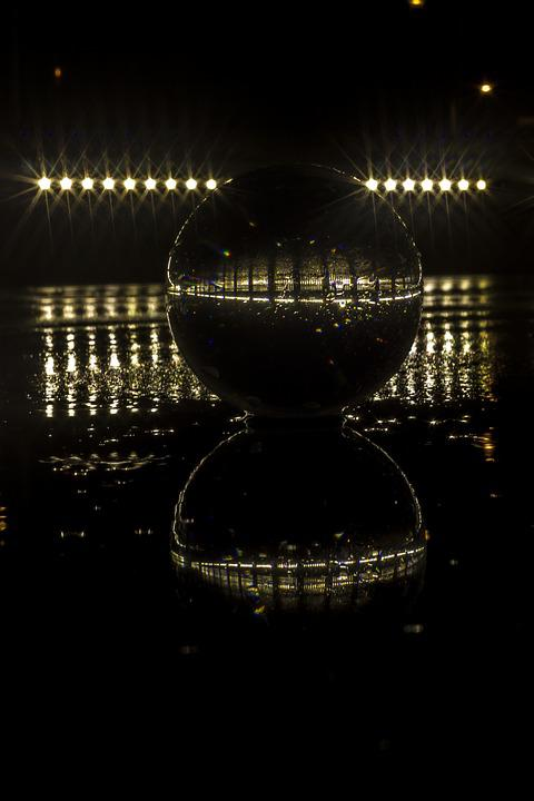 Ball, Reflection, Round, Glass, Brilliant, Transparent