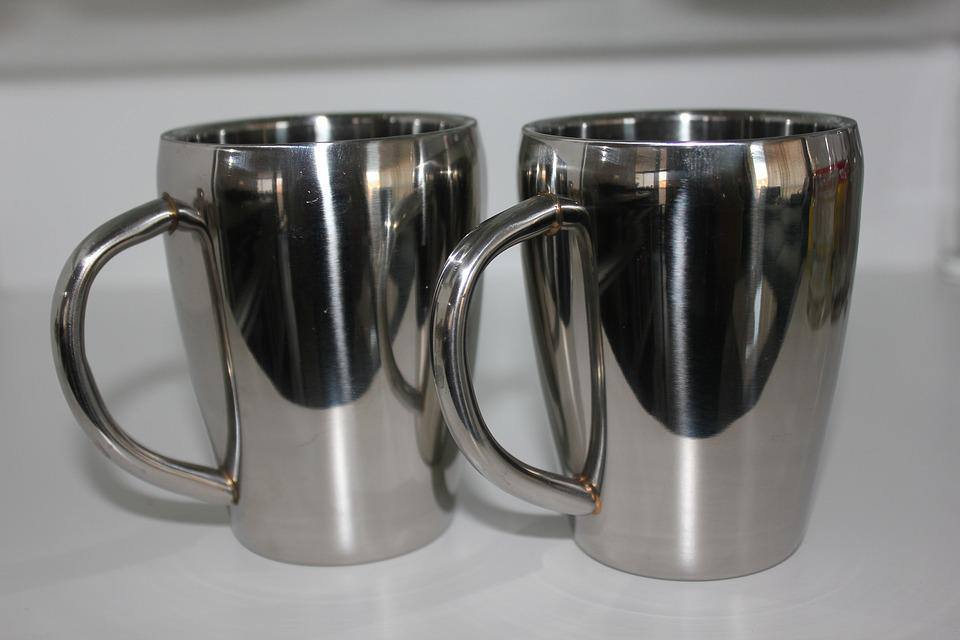 Cup, A Cup Of, Silver, Shine, Reflection