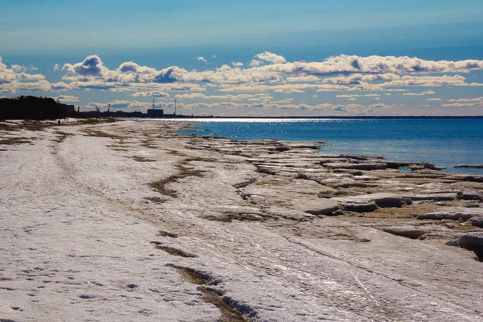 Sea, Sun, Reflection, Water, Beach, Landscape, Clouds