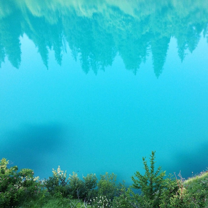 Reflection, Nature, Lakes, Mountains, Water