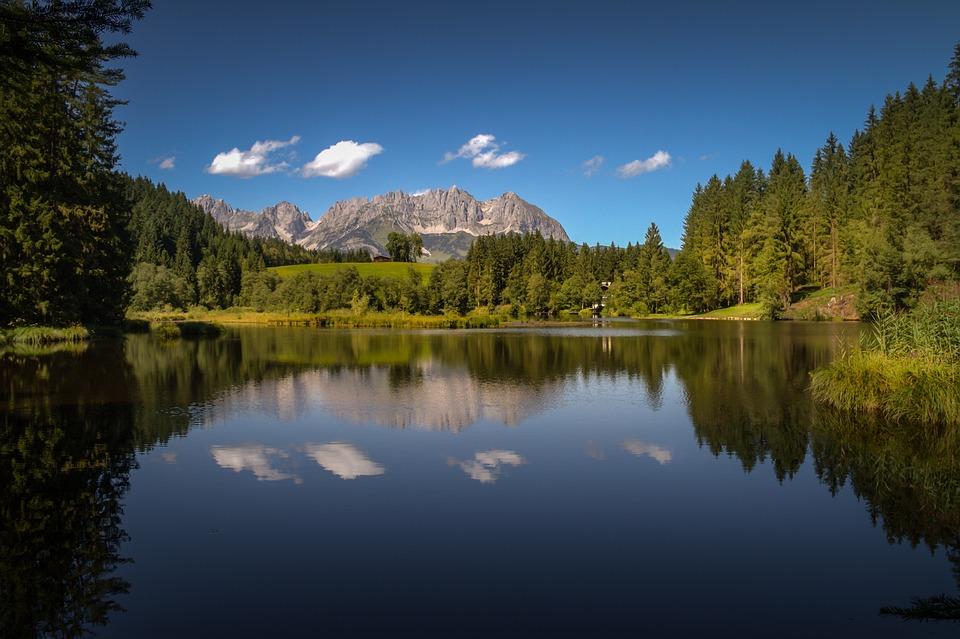 Reflection, Lake, Waters, Nature