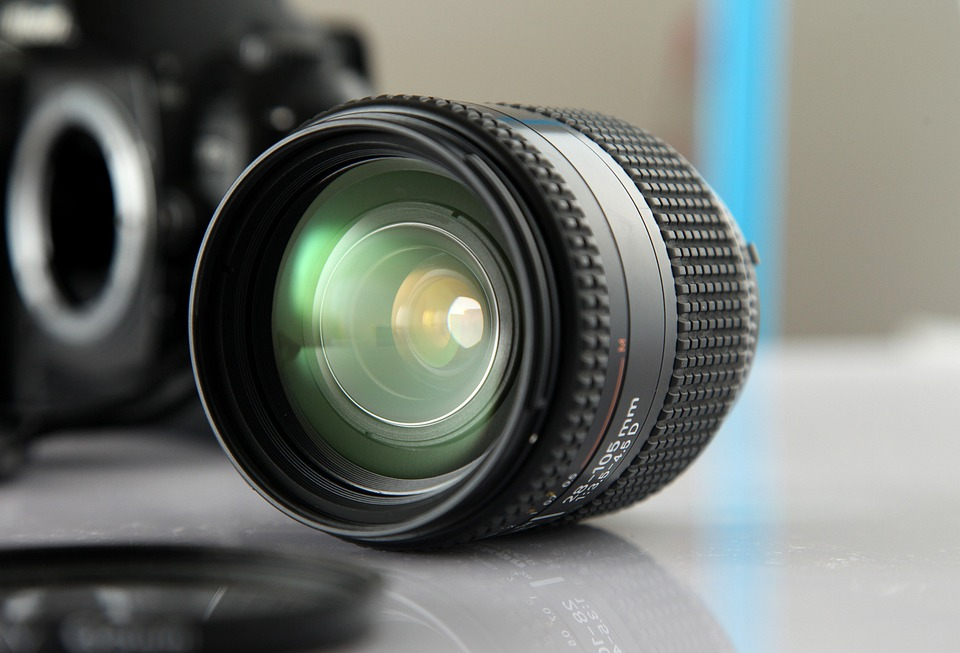 Lens, Nikon, Glass, Light, Reflective, Permeability