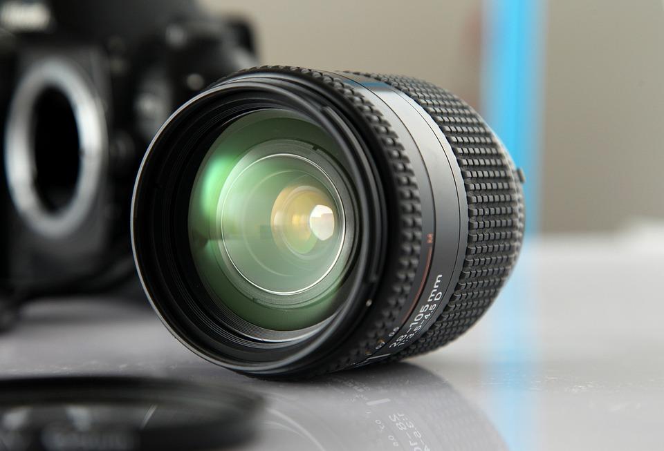 Lens, Nikon, Glass, Light, Reflective, Permeability