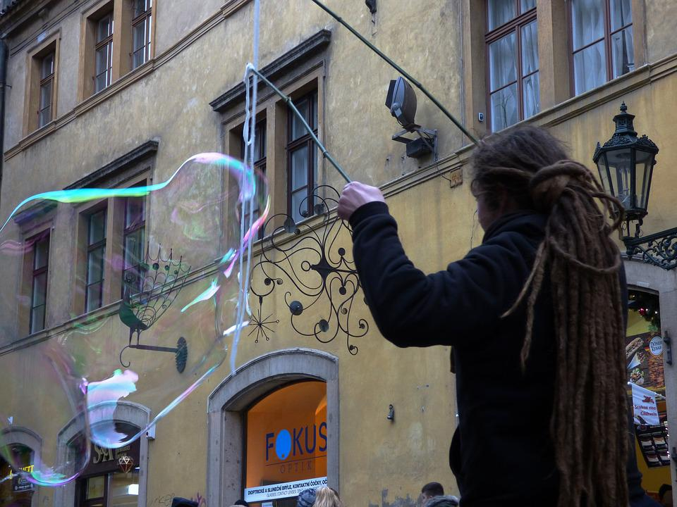 Bubble, Bubbles, Soap Bubbles, Let, Reflection, Reflex