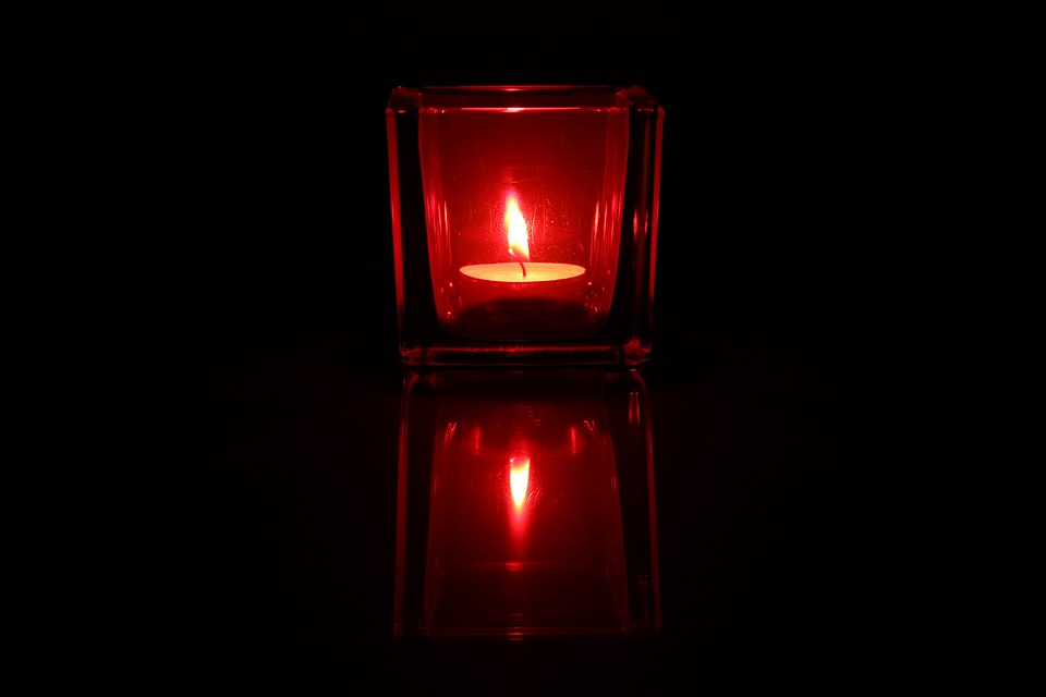 Tealight, Candle, Light, Candlelight, Reflexes