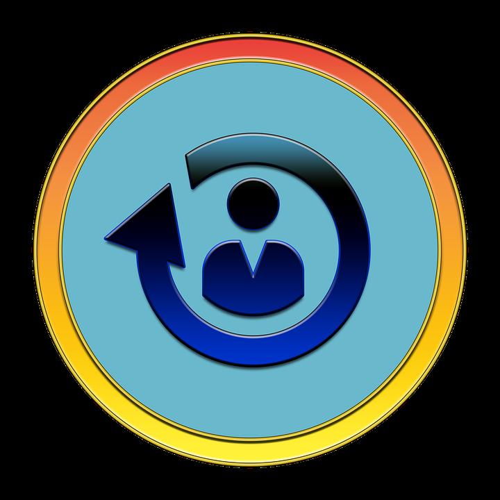 Reload, Person, Icon, Button, Refresh, Reload Icon
