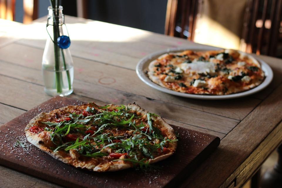 Food, Meal, Refreshment, Dinner, Restaurant, Pizza