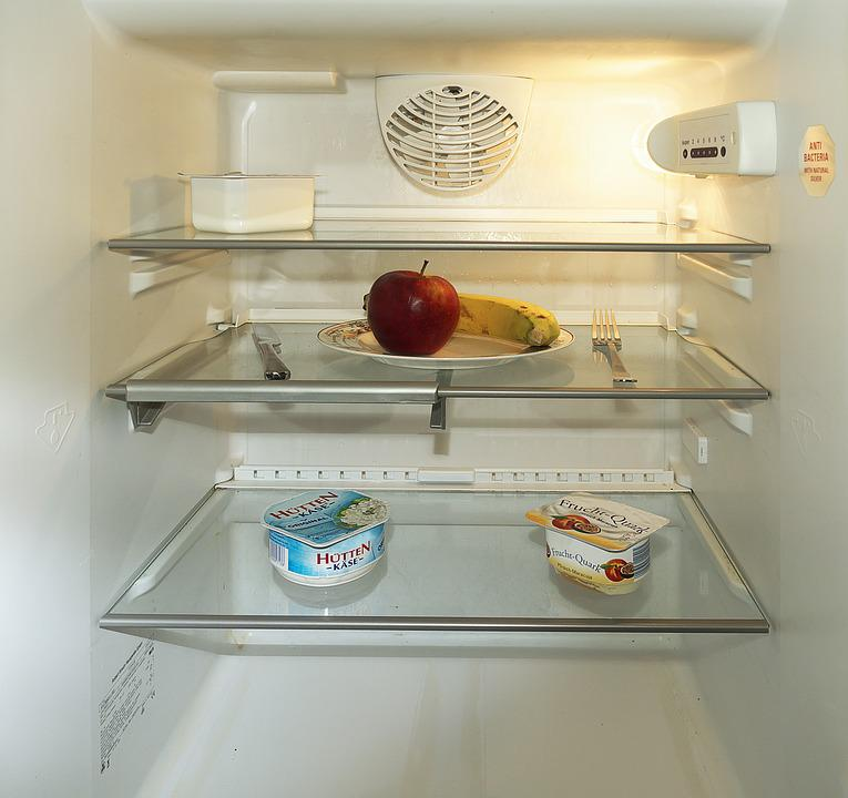 Almost Time, Fasting, Refrigerator, Apple, Banana