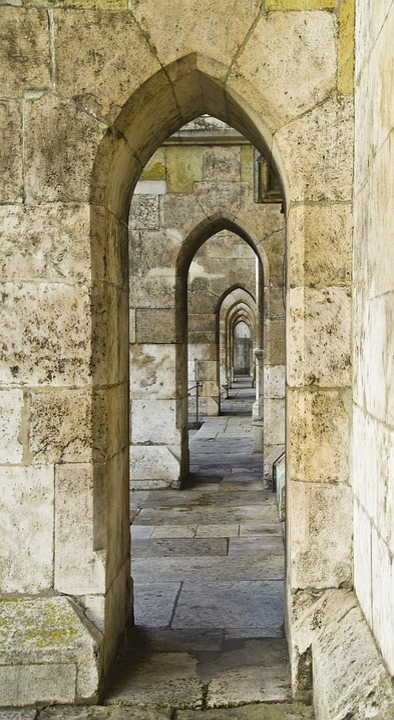 Dom Gothic Regensburg Archway Pointed Arch