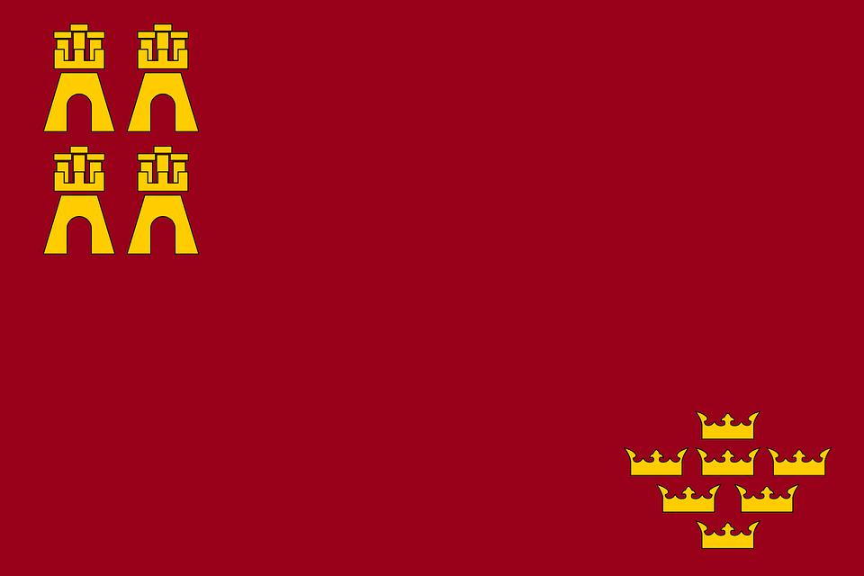 Murcia, Flag, Region, Autonomous Community, Spain