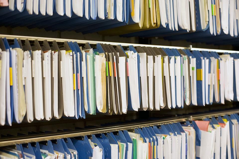 Archive, Files, Register, Office, Documents, Management