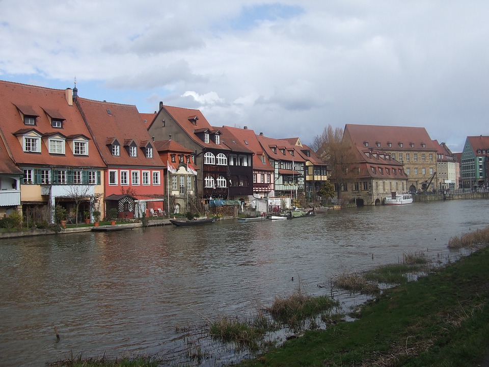 Bamberg, Small Venice, Town On The River, Regnitz