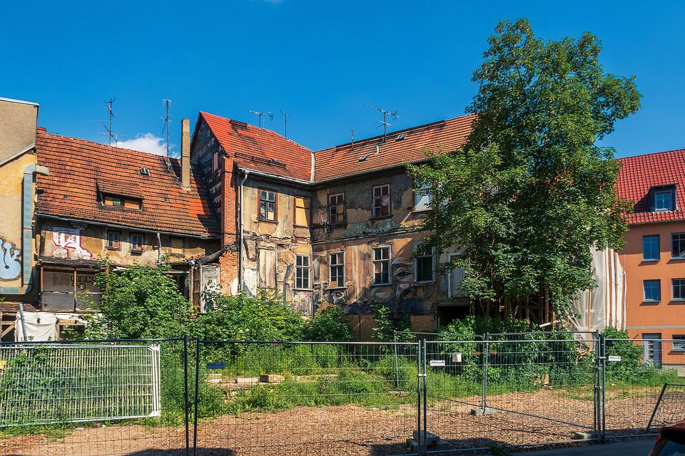 Ruin, Renovate, Erfurt, Rehabilitation, Renovation